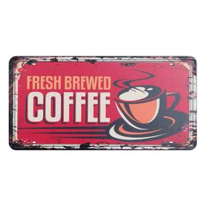 Placa-Decorativa-15x30cm-Fresh-Brewed-Coffee-LPD-033---Litocart