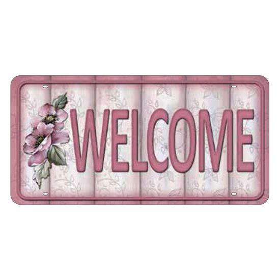 Placa-Decorativa-15x30cm-Welcome-LPD-043---Litocart