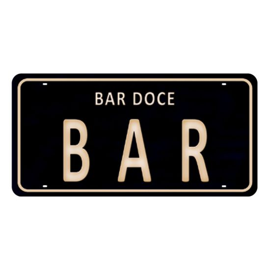 Placa-Decorativa-15x30cm-Bar-Doce-Bar-LPD-053---Litocart