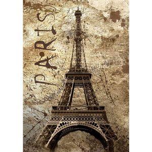 Placa-Decorativa-32x215cm-Paris-Torre-Eiffel-LPQM-012---Litocart