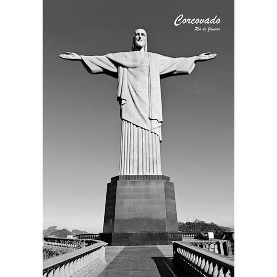 Placa-Decorativa-32x215cm-Corcovado-Rio-de-Janeiro-LPQM-019---Litocart