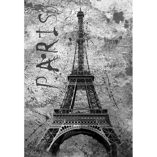 Placa-Decorativa-32x215cm-Torre-Eiffel-Paris-LPQM-013---Litocart