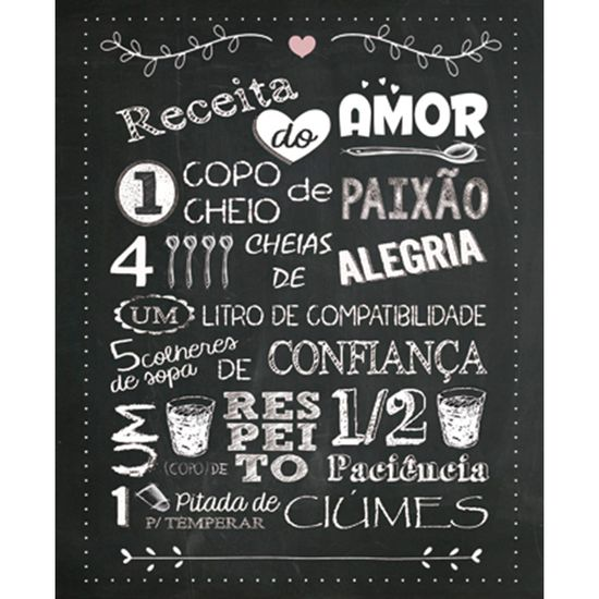 Placa-Decorativa-245X195cm-Receita-do-Amor-LPMC-031---Litocart
