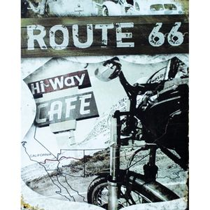 Placa-Decorativa-245X195cm-Route-66-LPMC-043---Litocart