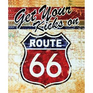 Placa-Decorativa-245X195cm-Get-Your-Kicks-On-Route-66-LPMC-044---Litocart