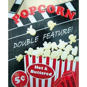 Placa-Decorativa-245X195cm-Popcorn-Double-Feature--LPMC-056---Litocart