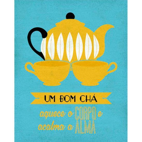 Placa-Decorativa-Um-Bom-Cha-24x19cm-DHPM-136---Litoarte