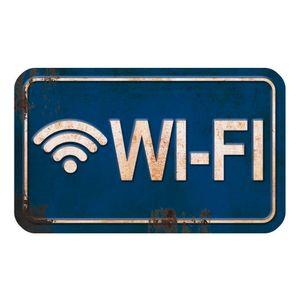 Placa-Decorativa-Wi-Fi-20x12cm-DHPM-102---Litoarte