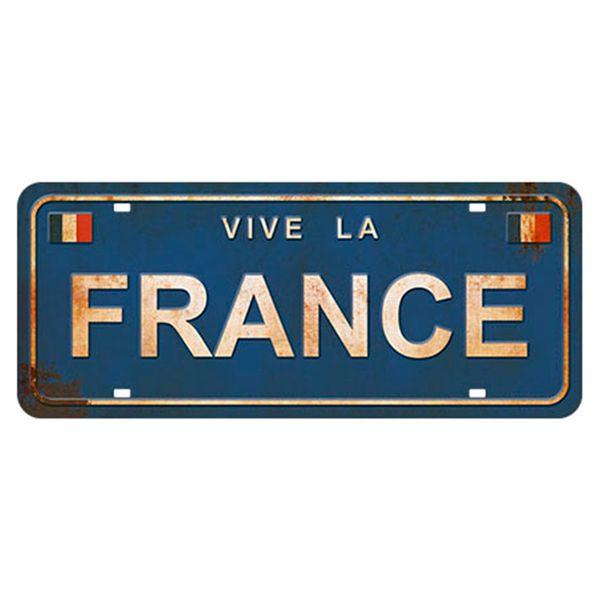 Placa-Decorativa-Vive-la-France-146x35cm-DHPM2-075---Litoarte