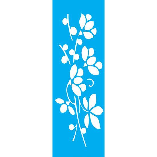 Stencil-para-Pintura-Barra-295x85cm-Flor-LS-059---Litocart
