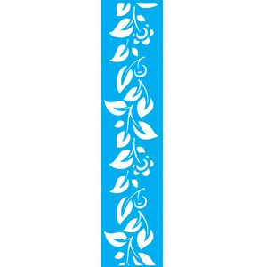 Stencil-para-Pintura-Barra-55X30cm-Flores-LSBM-001---Litocart
