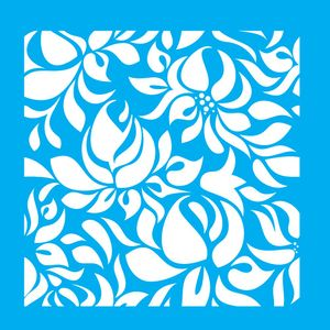 Stencil-para-Pintura-20X20cm-Flores-LSQ-043---Litocart
