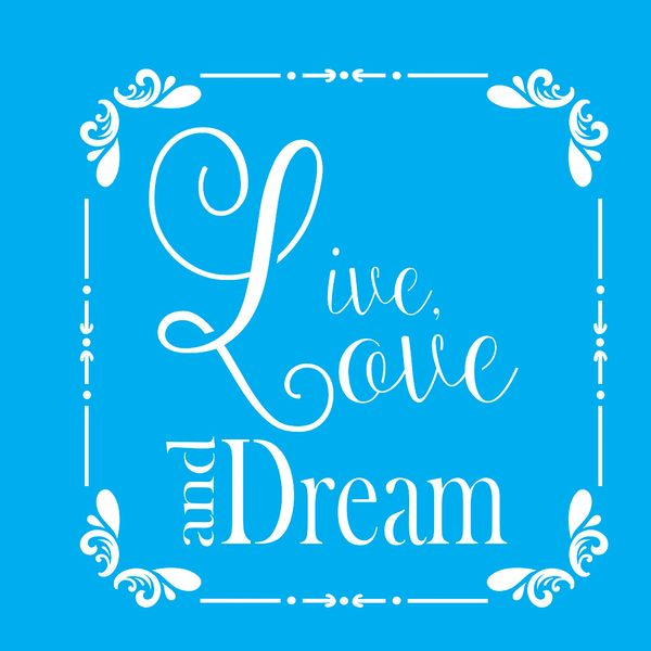 Stencil-para-Pintura-20X20cm-Live-Love-And-Dream-LSQ-049---Litocart