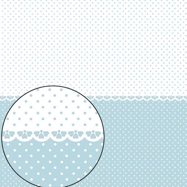Papel-Scrapbook-Folha-Simples-305x305cm-Poa-Azul-Claro-e-Branco-LSC-270---Litocart