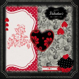 Papel-Scrap-Decor-165x165cm-Happy-Valentine-s-Day-LSCP-029---Litocart