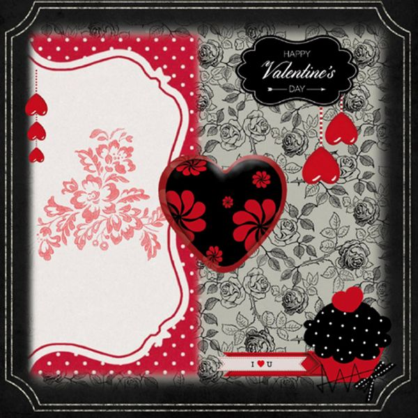 Papel-Scrap-Decor-165x165cm-Happy-Valentine-s-Day-LSCP-029---Litocart