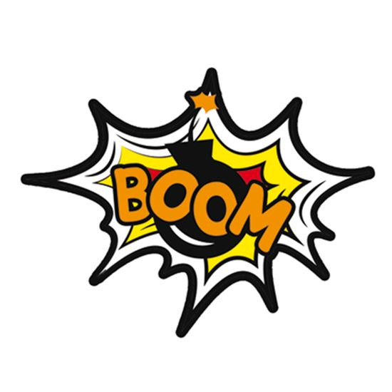 Aplique-Decoupage-7x7cm-Boom-LMAM-022---Litocart