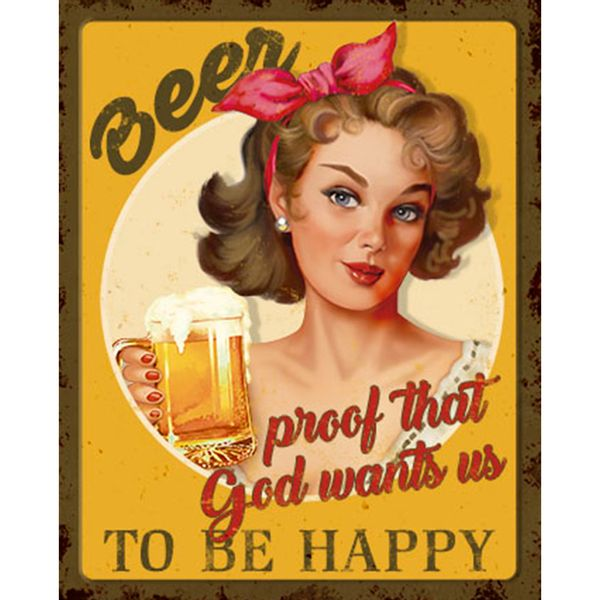 Placa-Decorativa-Retro-Beer-24x19cm-DHPM-166---Litoarte