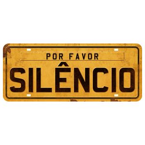 Placa-Decorativa-Por-Favor-Silencio-146x35cm-DHPM2-039---Litoarte
