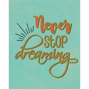 Placa-Decorativa-Never-Stop-dreaming-24x19cm-DHPM-147---Litoarte