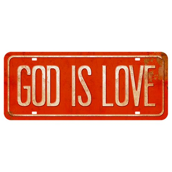 Placa-Decorativa-God-Is-Love-146x35cm-DHPM2-051---Litoarte