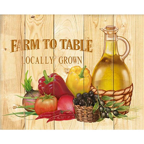 Placa-Decorativa-Farm-To-Table-Locally-Grown-24x19cm-DHPM-154---Litoarte