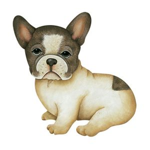 Aplique-Decoupage-8cm-Cachorro-Bull-Dog-Frances-APM8-654---Litoarte