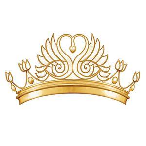 Aplique-Decoupage-8cm-Coroa-Dourada-APM8-515---Litoarte