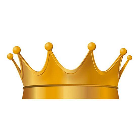 Aplique-Decoupage-8cm-Coroa-Dourada-APM8-522---Litoarte