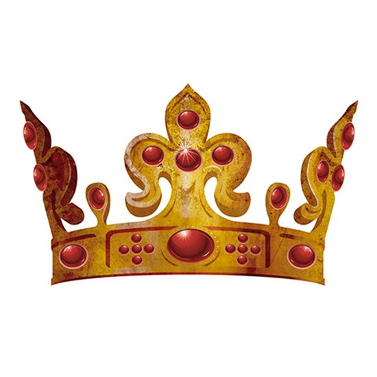 Aplique-Decoupage-8cm-Coroa-Dourada-APM8-608---Litoarte