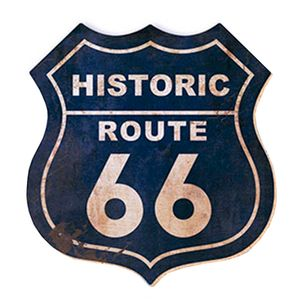 Aplique-Decoupage-8cm-Historic-Route-66-APM8-362---Litoarte