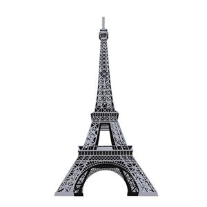 Aplique-Decoupage-8cm-Torre-Eiffel-Prata-APM8-533---Litoarte