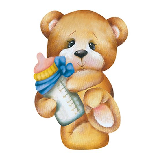 Aplique-Decoupage-8cm-Ursinho-Segurando-Mamadeira-APM8-572---Litoarte