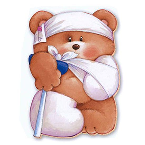 Aplique-Decoupage-8cm-Urso-Dodoi-APM8-375---Litoarte