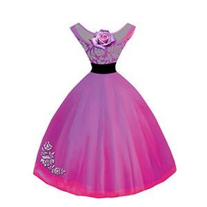 Aplique-Decoupage-8cm-Vestido-Pink-APM8-397---Litoarte