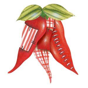 Aplique-Decoupage-8cm-Pimentas-Vermelhas-APM8-764---Litoarte