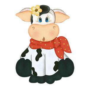 Aplique-Decoupage-8cm-Vaca-Sentada-de-Frente-APM8-765---Litoarte