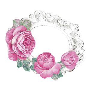 Aplique-Decoupage-8cm-Moldura-com-Rosas-APM8-785---Litoarte