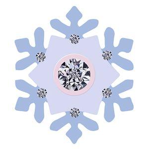 Aplique-Decoupage-8cm-Floco-de-Neve-Lilas-APM8-596---Litoarte