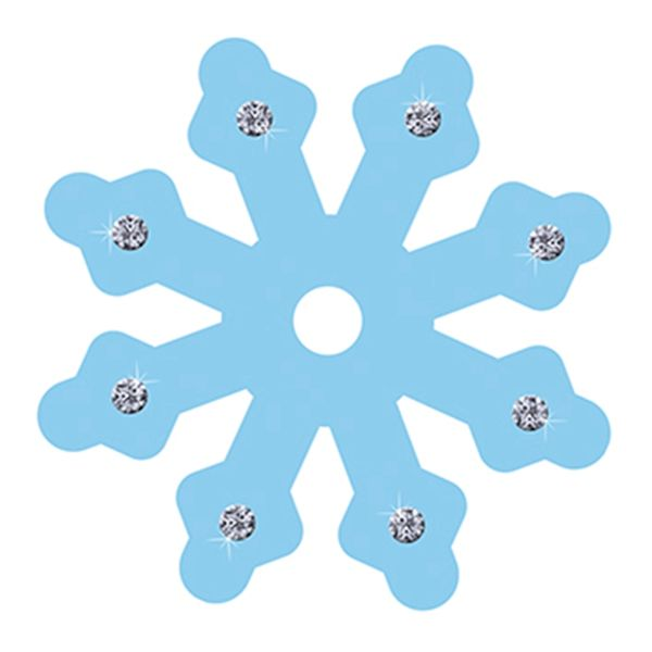 Aplique-Decoupage-8cm-Floco-de-Neve-Azul-APM8-595---Litoarte