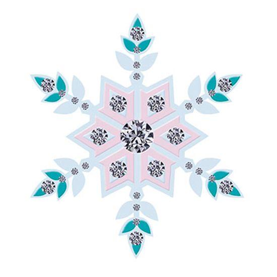 Aplique-Decoupage-8cm-Flocos-de-Neve-Colorida-APM8-528---Litoarte