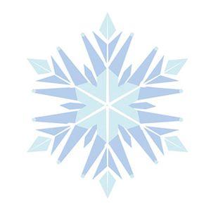 Aplique-Decoupage-8cm-Flocos-de-Neve-Azul-APM8-527---Litoarte