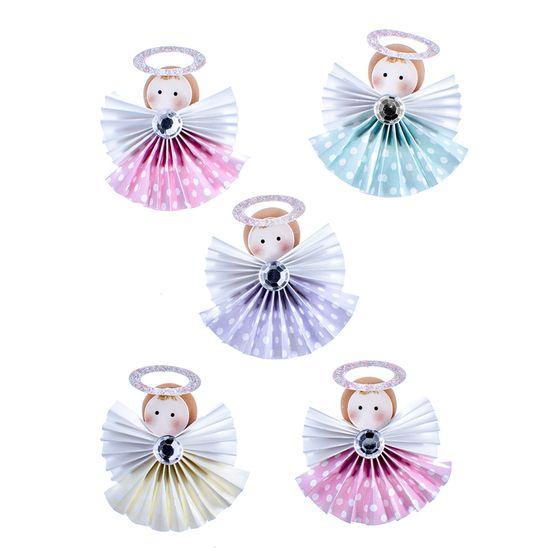 Adesivo-Elegante-Anjinhos-3D-com-Glitter-AD1824---Toke-e-Crie