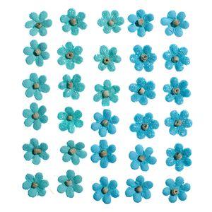 Flores-Artesanais-Aquileia-Azul-Colecao-Algodao-Doce-FLOR137---Toke-e-Crie