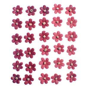 Flores-Artesanais-Aquileia-Vermelha-Colecao-Algodao-Doce-FLOR141---Toke-e-Crie