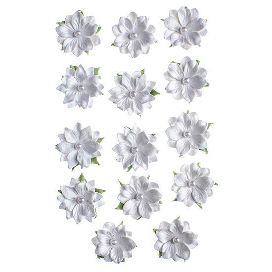 Flores-Artesanais-Daphne-Branco-Colecao-Algodao-Doce-FLOR150---Toke-e-Crie