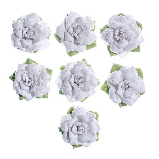 Flores-Artesanais-Rosas-Brancas-Colecao-Algodao-Doce-FLOR156---Toke-e-Crie