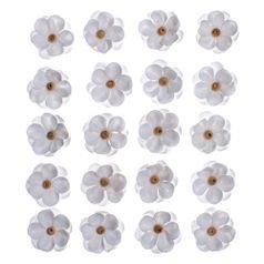 Flores-Artesanais-Sininhos-Branco-Colecao-Algodao-Doce-FLOR132---Toke-e-Crie