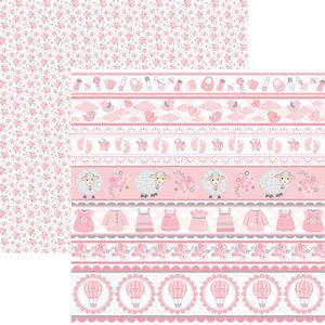 Papel-Scrapbook-Dupla-Face-Mini-Basico-305x305cm-Bebe-Menina-Faixas-SMB-002-–-Toke-e-Crie-by-Ivana-Madi