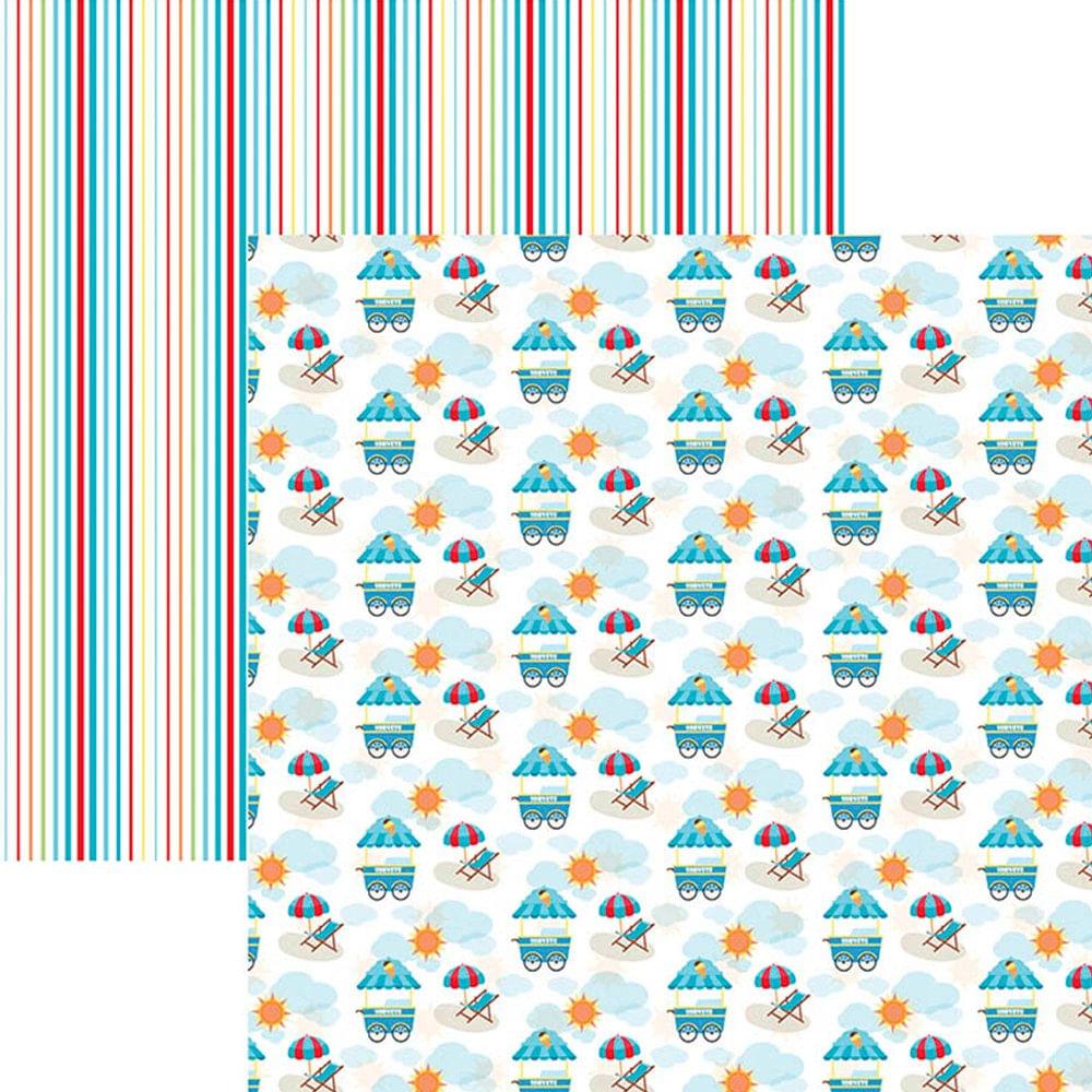 Papel Scrapbook Dupla Face Mini Básico 30,5x30,5cm Verão Praia SMB-016 –  Toke e Crie by Ivana Madi - PalacioDaArte 218f49fa32